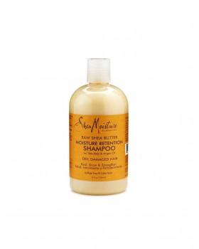 Raw Shea Butter Moisture Retention Shampoo 384ml -ŠAMPÓN NA SUCHÉ A POŠKODENÉ VLASY