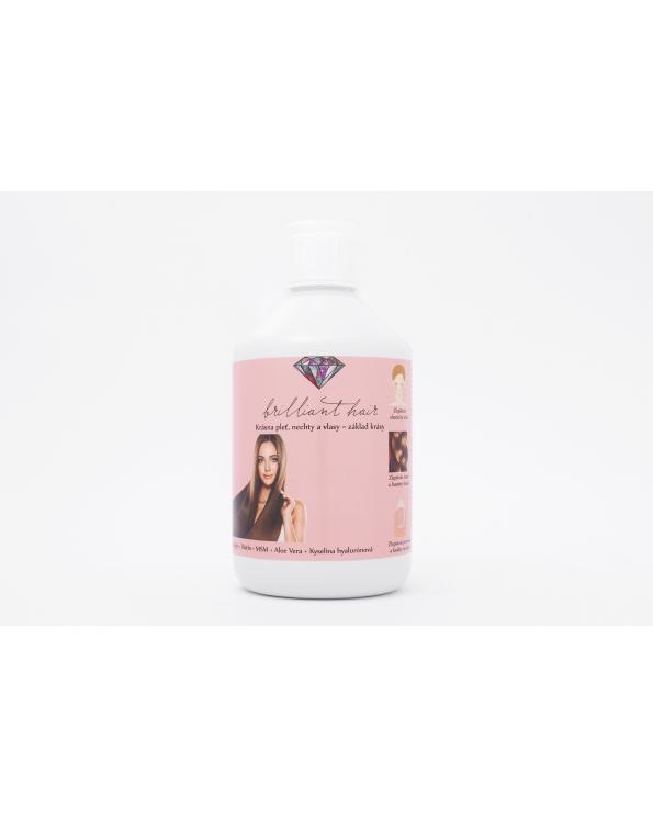 brilliant hair vitamíny na vlasy, pleť a nechty, jednomesačná kúra - Vitamíny na vlasy, pleť, nechty