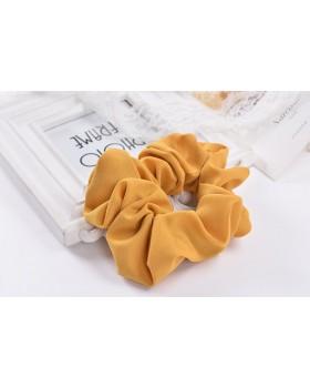 Látková gumička - žltá